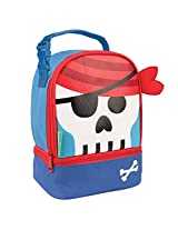 Stephen Joseph Pirate Lunch Pals, Blue/Red