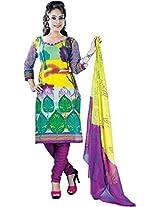 RGN Retails Cotton Unstitched Dress Material For Salwar Suits Kameez RGN-1544