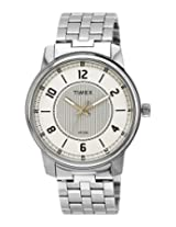 Timex Classics Analog Silver Dial Men's Watch - TI000V80300