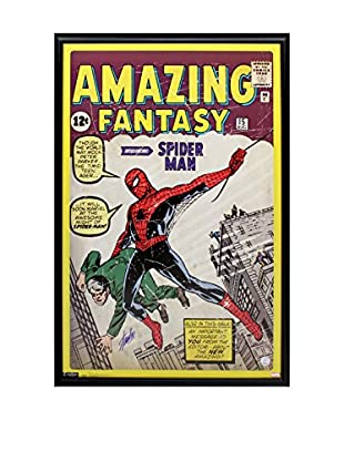 Steiner Sports Memorabilia Framed Stan Lee Autographed Spider Man First Edition Cover Poster