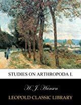 Studies on Arthropoda I.