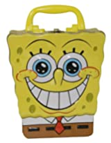 The Tin Box Company 248207-12 Sponge Bob Shaped Large Carry All Tin
