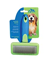 "u•groom  Slicker Brushes with Steel Pins - Ergonomic Slicker Brushes for Dog Grooming - Large, 6Ÿ"" x 4Ÿ"""