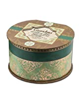 Cottage Garden Grandma Belle Papier Round Musical Jewelry Box Inspirational with Elegance Finish Pla