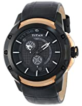 Titan HTSE Analog Black Dial Men's Watch - NE1540KL01
