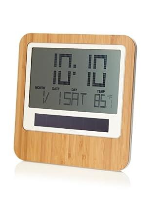 Lexon Safe Bamboo Wall Clock, Bamboo