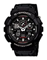 Casio G-Shock Analog-Digital Multi-Color Dial Men's Watch - GA-100MC-1ADR (G471)