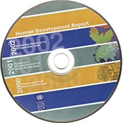 【クリックで詳細表示】Human Development Report 2000, 2001 And 2002: 2000-2001-2002 [CD-ROM]