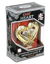Hanayama Cast Heart - Hanayama Cast Metal Puzzle