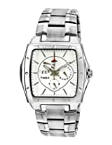 Timex E Class Analog Silver Dial Men's Watch - I902