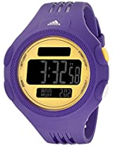 adidas Mens ADP3137 Purple and Yellow Digital Watch