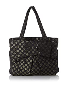 Felix Rey Doris Tote, Black/Gold