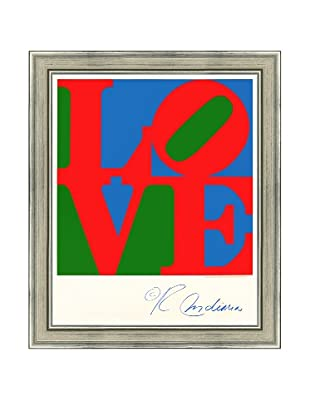 Robert Indiana: LOVE (Blue, Green, Red)