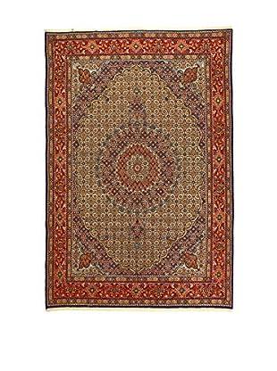 L'Eden del Tappeto Teppich Mud rot/mehrfarbig 295t x t195 cm