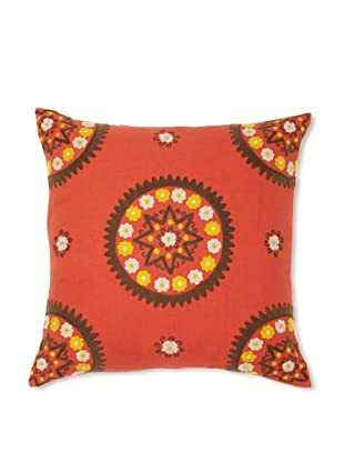 Better Living Medallion Pillow (Coral)