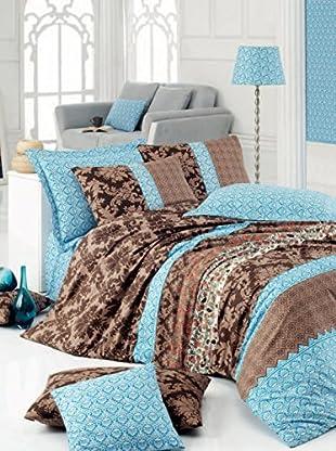 Colors Couture Bettdecke und Kissenbezug Giera