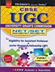 Trueman's UGC University Grants Commission NET T/SET for Eligibility for Assistant professor or junior research fellowship (JRF)(Paper - 1) Revised Edition