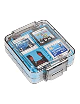 PowerA Nintendo DS Official 16 Game Clear Case (Teal)