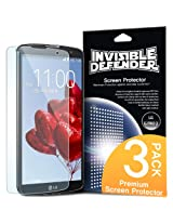 Rearth Invisible Defender Premium High Definition Extreme Clear Film Screen Protector with 3 Pack for LG G Pro 2 - Retail Packaging