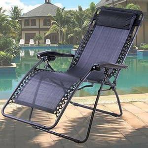 Kawachi Relax Recliner Chair - Black