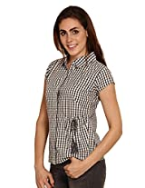 MISS CHICK Women Cotton Multi Shirt (X-Large)