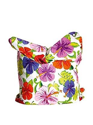 Sitting Bull Puff Grande Fashion Bull Paradise Flower Blanco/Multicolor