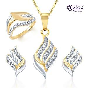 Sukkhi Gold & Rhodium-plated Set