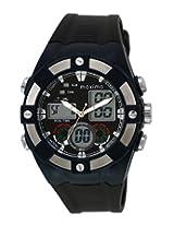 Maxima Analog Black Dial Men's Watch - 28631PPAN