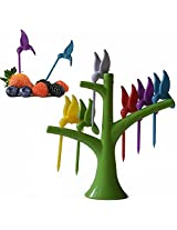 Humming Bird Fruit Fork Set