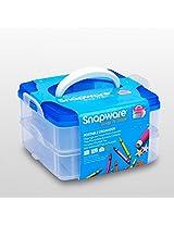 Snapware Lock Storage Container Kids Blue