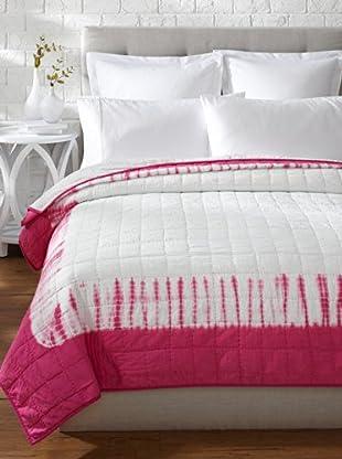 Designers Guild Savine Quilt (Fuchsia)