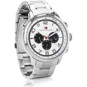 Tommy Hilfiger Analog White Dial Men's Watch - TH1790765J
