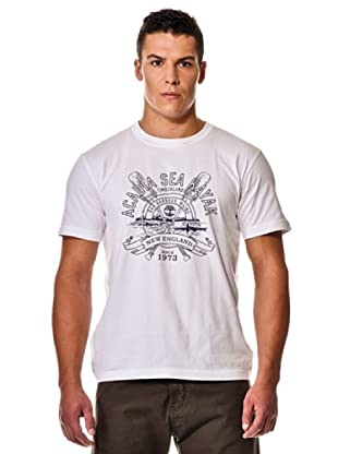 Timberland Camiseta M/M (Blanco)