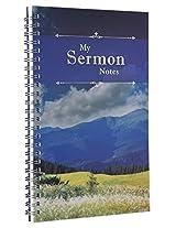 Notebook Wirebound My Sermon Notes (Mountains)