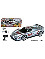 "17"" Ferrari Enzo Four Wheel Drive Racing Car Silver"