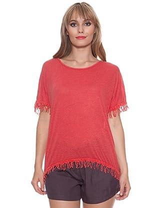 Santa Barbara Camiseta Flecos (Melocotón)