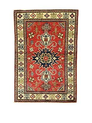 L'EDEN DEL TAPPETO Alfombra Uzebekistan Rojo/Multicolor 97 x 143 cm