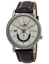 Timex E Class Analog Silver Dial Men's Watch - J200