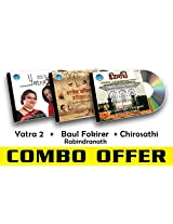 Rabindra Sangeet Combo-6 Yatra 2 + Baul Fokirer Rabindranath + Chiroshathi