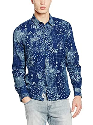 Pepe Jeans London Hemd Blue Regular Fit