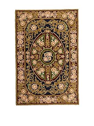 RugSense Teppich Chain Stitch mehrfarbig 122 x 76 cm