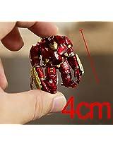 Hulkbuster Iron Man Avengers PVC Figure KeyChain Key Ring Chain