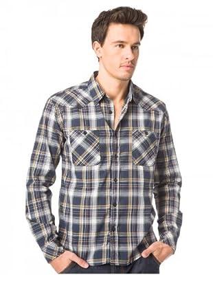 JACK & JONES Camisa Hape L/S (Azul)