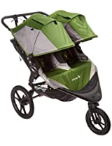 Baby Jogger 2016 Summit X3 Double Stroller, Green/Gray