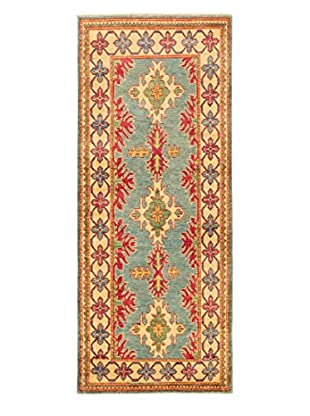 eCarpet Gallery One-of-a-Kind Hand-Knotted Gazni Rug, Light Blue, 2' 8