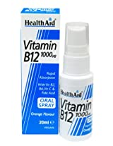 HealthAid Vitamin B12 1000 µg Spray - 20 ml