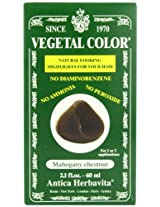 Vegetal Hair Color, Mahogany Chestnut, 2.1 Fluid Ounce