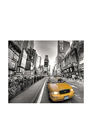 Legendarte Leinwandbild Taxi Nella Grande Città 50X60