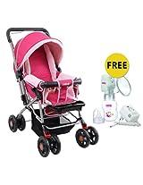 Farlin Baby Stroller BF 889 B - Pink