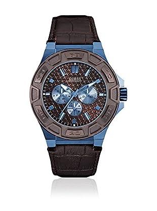 Guess Uhr mit japanischem Mechanikuhrwerk Man Force Blue blau 45 mm